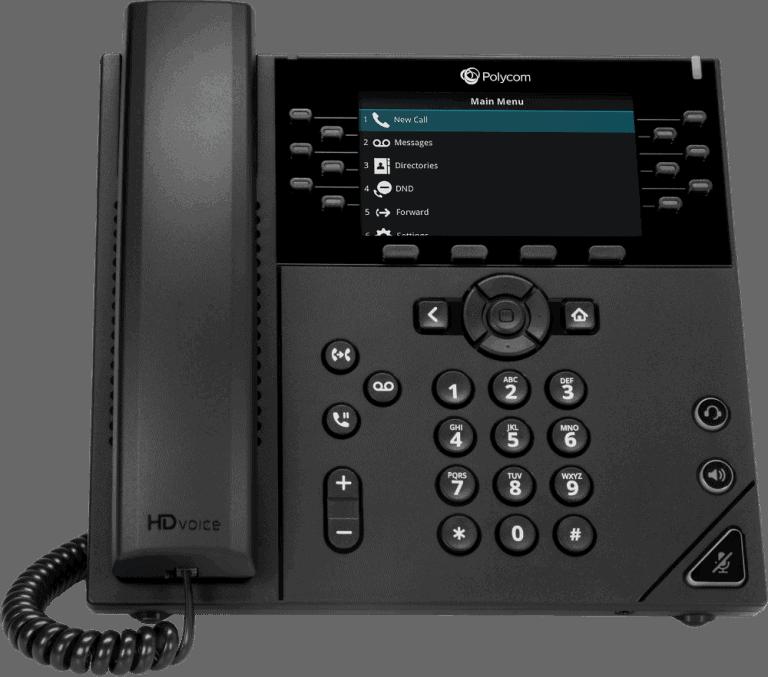 Poly VVX450 Business IP Phone