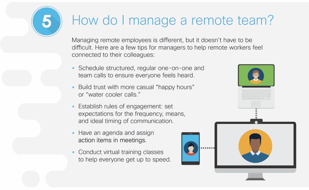 How do I manage a remote team?