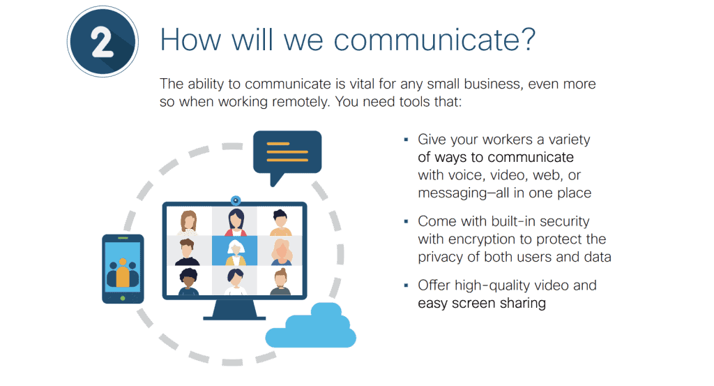 How will we communicate?