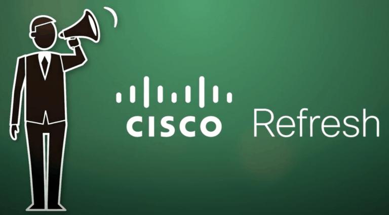 Cisco Refresh logo