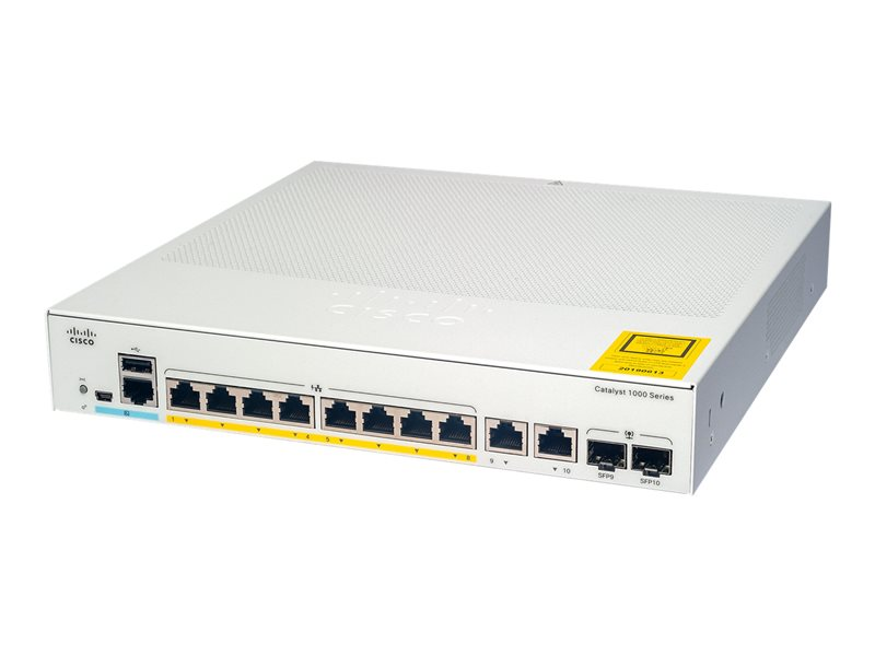 Catalyst 1000-8FP-2G-L 8 Port Managed Switch 1 1Connect Ltd - Bringing IT and Communications Together